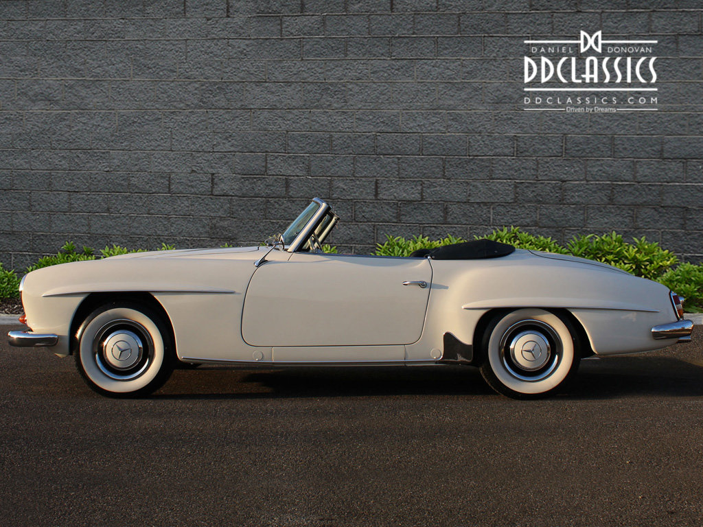 1962 Mercedes 190 SL Roadster (LHD) for sale in London For Sale (picture 7 of 20)