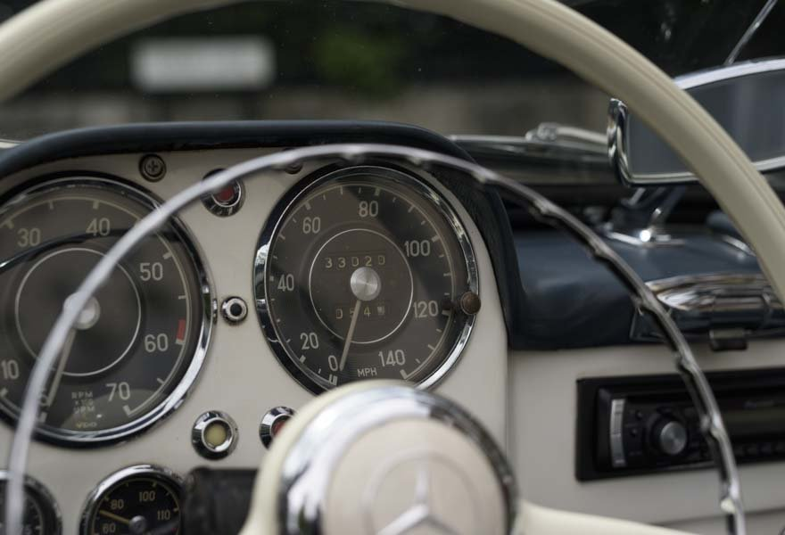 1962 Mercedes 190 SL Roadster (LHD) for sale in London For Sale (picture 11 of 20)