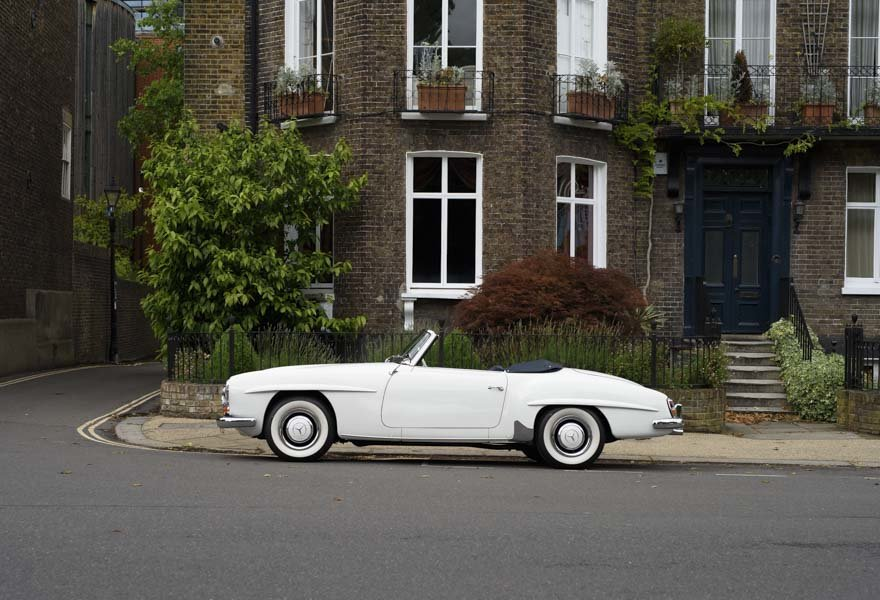 1962 Mercedes 190 SL Roadster (LHD) for sale in London For Sale (picture 20 of 20)