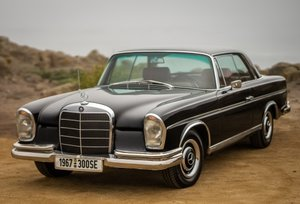 1967 Mercedes 300 SE Coupe Rare 2.4k made 41k miles $79k For Sale