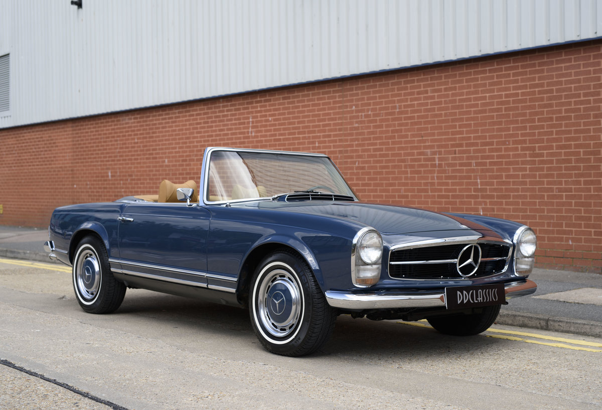 1969 Mercedes-Benz 280SL Pagoda For Sale In London (LHD) For Sale (picture 2 of 24)