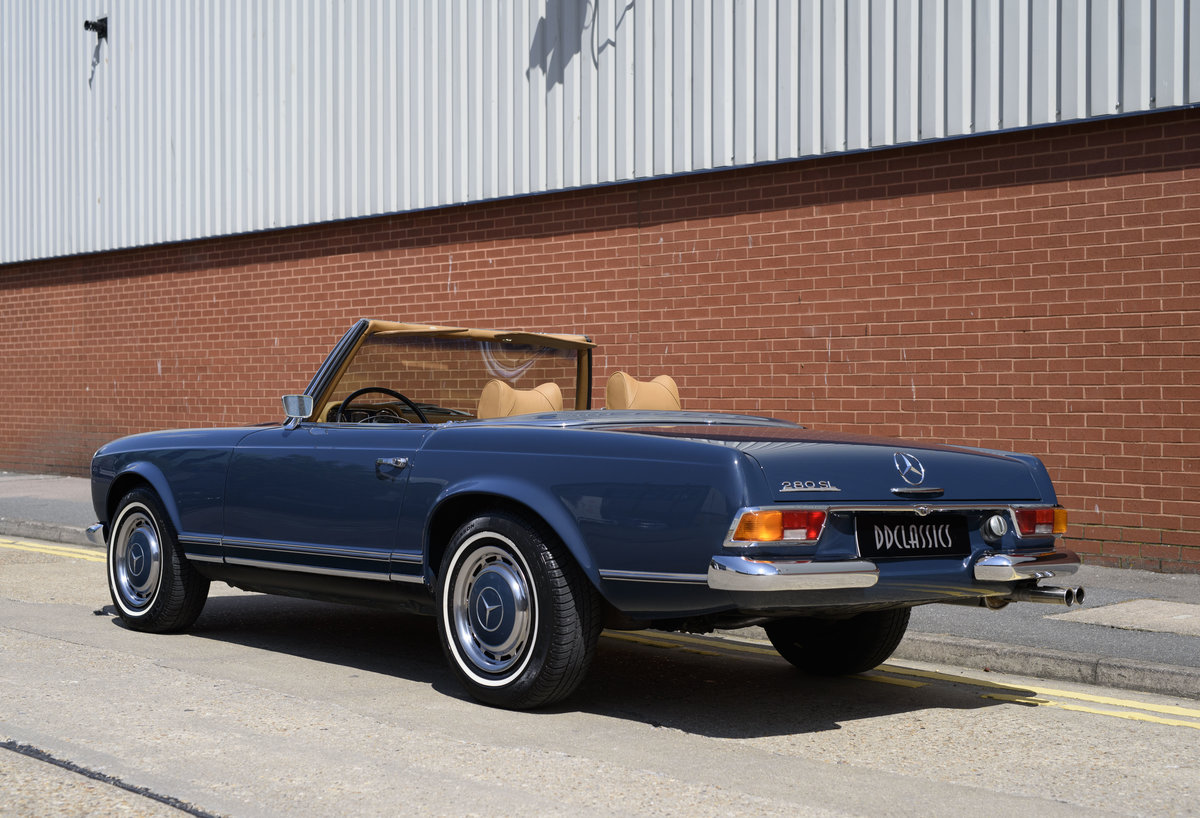 1969 Mercedes-Benz 280SL Pagoda For Sale In London (LHD) For Sale (picture 4 of 24)