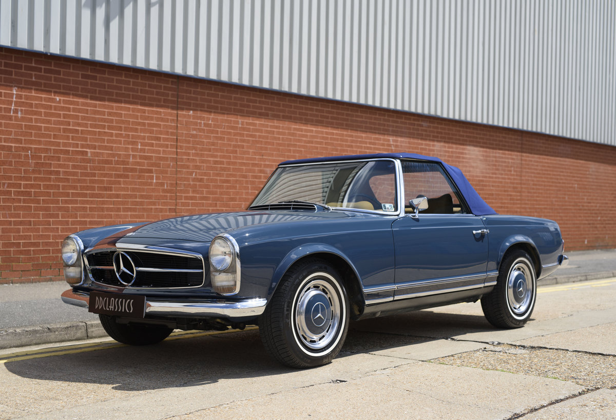 1969 Mercedes-Benz 280SL Pagoda For Sale In London (LHD) For Sale (picture 9 of 24)