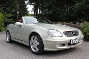 2001 Mercedes SLK 320 Designo Model First Class  SOLD