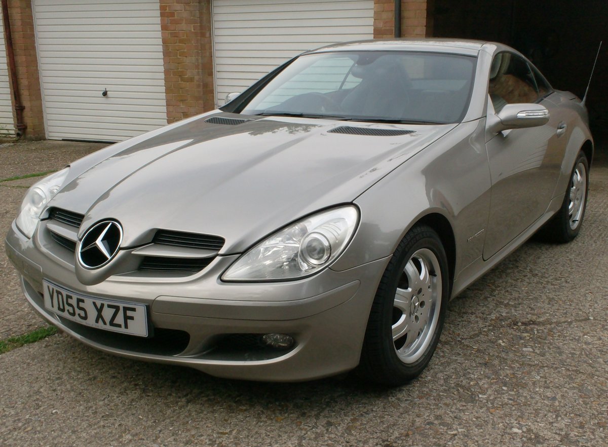 2005 MERCEDES BENZ 1.8 SLK 200 SOLD (picture 1 of 6)