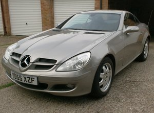 2005 MERCEDES BENZ 1.8 SLK 200 SOLD