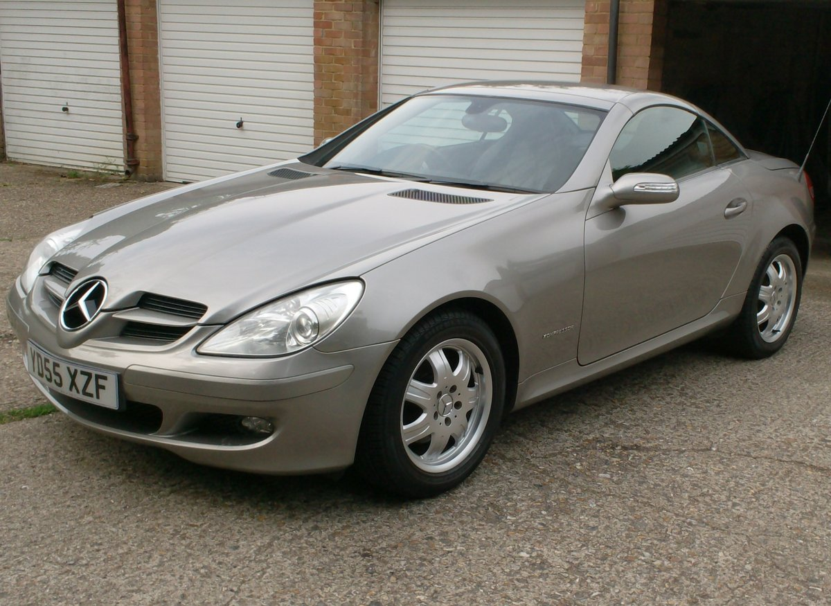 2005 MERCEDES BENZ 1.8 SLK 200 SOLD (picture 2 of 6)