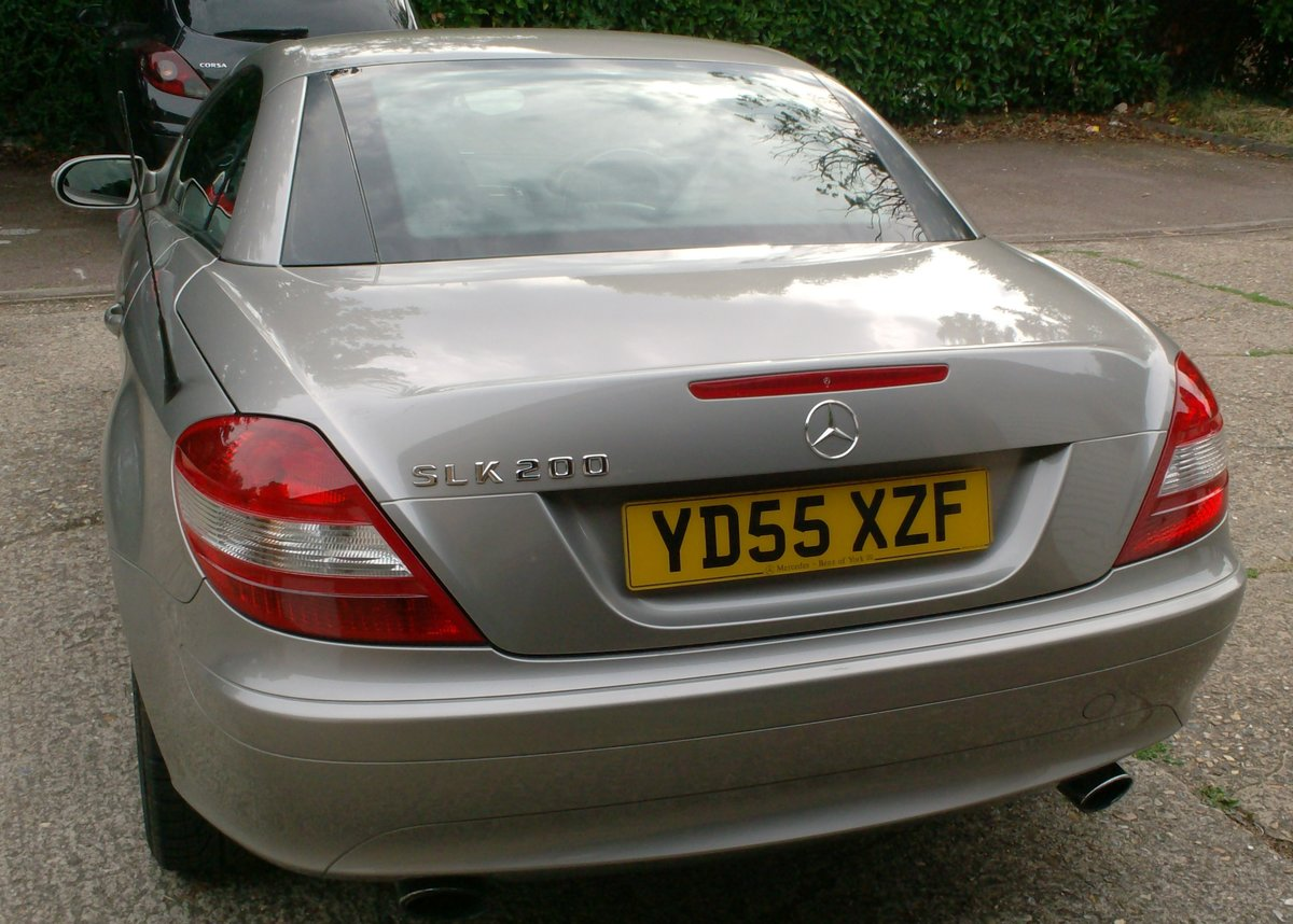 2005 MERCEDES BENZ 1.8 SLK 200 SOLD (picture 6 of 6)