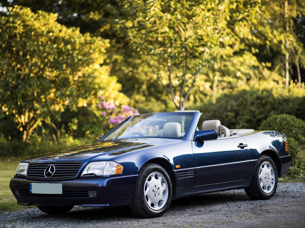 1995 V8 500SL SL500, 2 f/owners, serviced, UK car For Sale (picture 1 of 6)