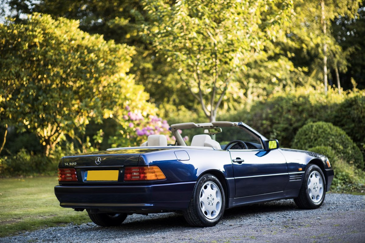1995 V8 500SL SL500, 2 f/owners, serviced, UK car For Sale (picture 2 of 6)