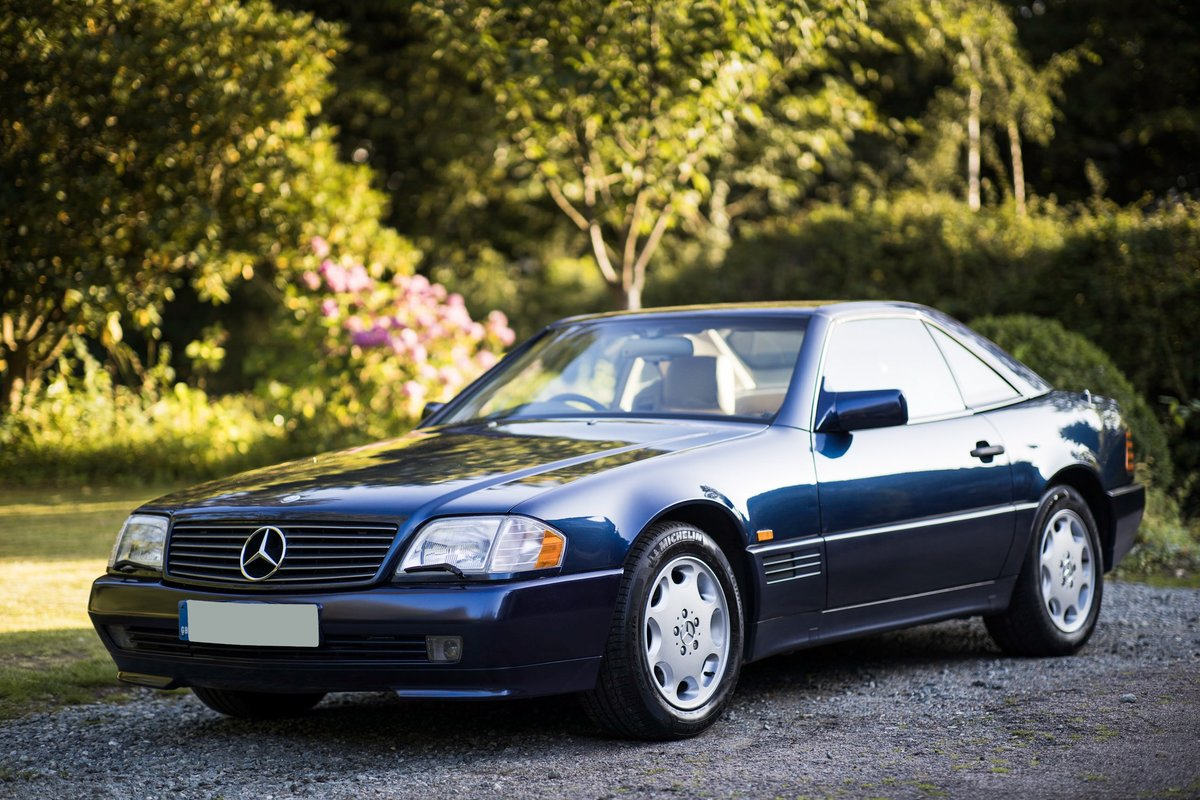 1995 V8 500SL SL500, 2 f/owners, serviced, UK car For Sale (picture 3 of 6)