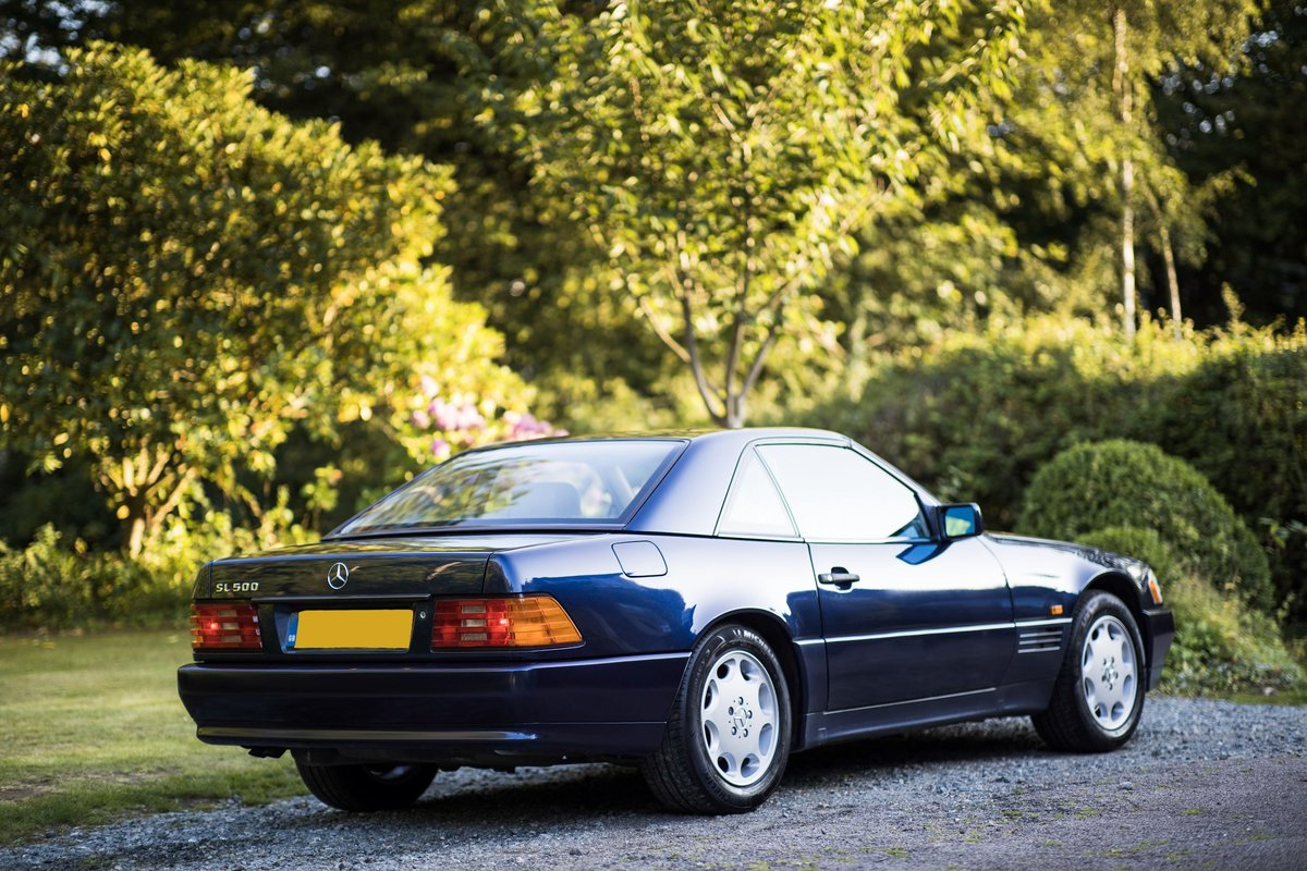 1995 V8 500SL SL500, 2 f/owners, serviced, UK car For Sale (picture 4 of 6)