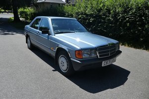 Mercedes 190E Auto 1986 - To be auctioned 25-10-19 For Sale by Auction