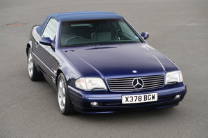 2000 MERCEDES SL320 'EDITION' For Sale