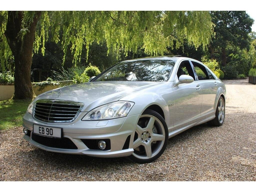 2007 Mercedes-Benz S Class 6.2 S63 AMG 7G-Tronic 4dr IMMACULATE C For Sale (picture 1 of 1)