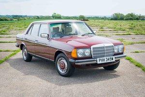 1981 Mercedes-Benz W123 230 - Zero corrosion - Original example SOLD