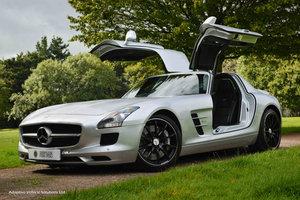 2010 Appreciating Asset Mercedes Benz SLS63 AMG Gullwing For Sale