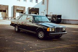 1984 Mercedes-Benz 300 turbo diesel TD W123