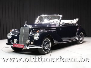 1953 Mercedes-Benz 220 A Cabriolet '53 For Sale