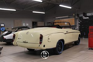 1960 Mercedes 220SE Hydrak Cab. 1 of 20 produced! For Sale