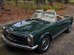 1966 Mercedes-Benz 230 SL Pagoda Being Restored For Sale