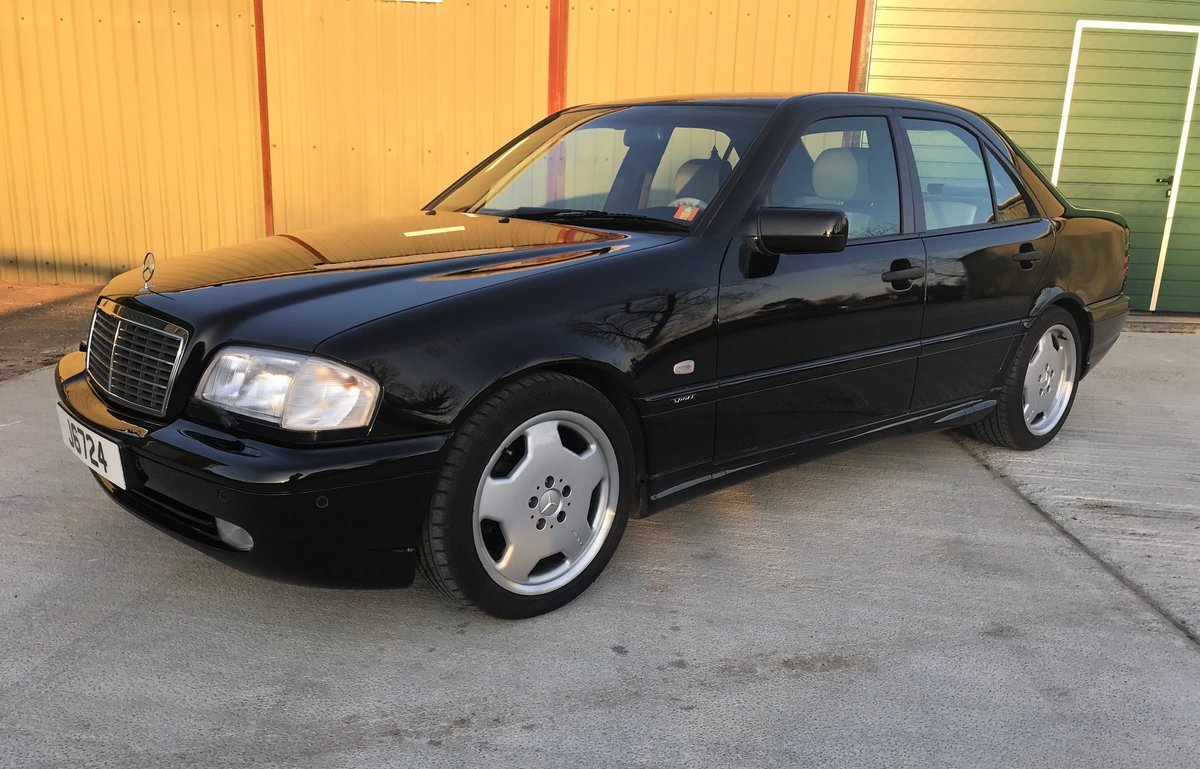 1998 Mercedes Benz C43 AMG LHD Low Mileage & ownership For Sale (picture 1 of 6)