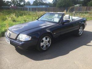 2000 One Owner Full Mercedes History 280 SL For Sale