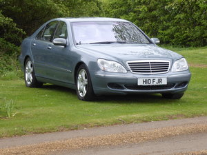 2004 Mercedes S500 W220 53000 miles V8 Superb Example For Sale