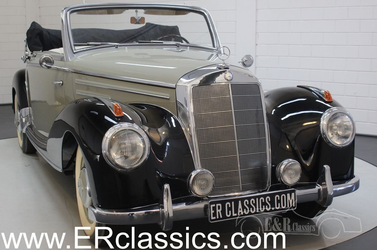 Mercedes-Benz 220A cabriolet 1952 Body off restored For Sale (picture 1 of 6)