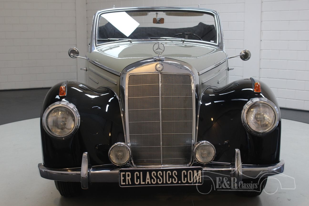 Mercedes-Benz 220A cabriolet 1952 Body off restored For Sale (picture 5 of 6)