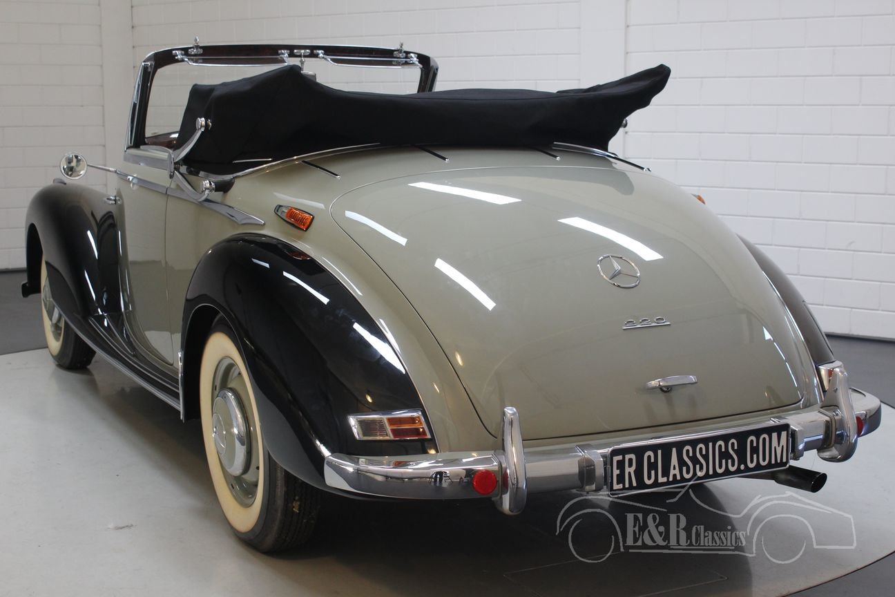 Mercedes-Benz 220A cabriolet 1952 Body off restored For Sale (picture 6 of 6)
