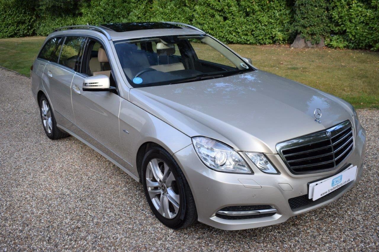 2010 Mercedes E350 CDI Estate Automatic For Sale (picture 1 of 6)