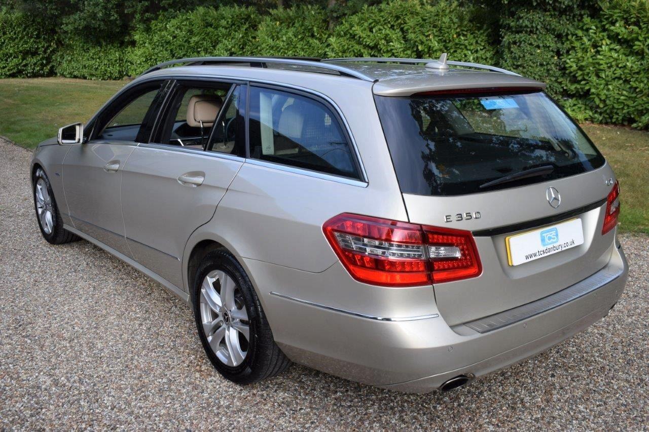 2010 Mercedes E350 CDI Estate Automatic For Sale (picture 2 of 6)