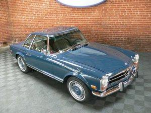 1969 Mercedes 280SL Pagoda Roadster Auto Blue(~)Gray  $89.5k For Sale