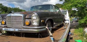 1970 Parts Wanted Merc W111 Coupe