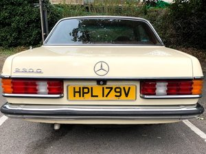 1980 Mercedes 230c pillarless coupe low mileage  For Sale