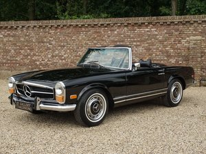 1971 Mercedes Benz 280SL Pagode factory Frigiking airconditioning For Sale
