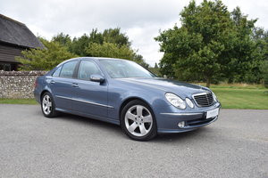 2003 03/03 MERCEDES E320CDI - 25K - 1 OWNER - FMBSH - EXCEPTIONAL