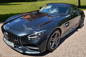 2019 Mercedes Benz AMG GT C Roadster // Driver Assistance Pack For Sale