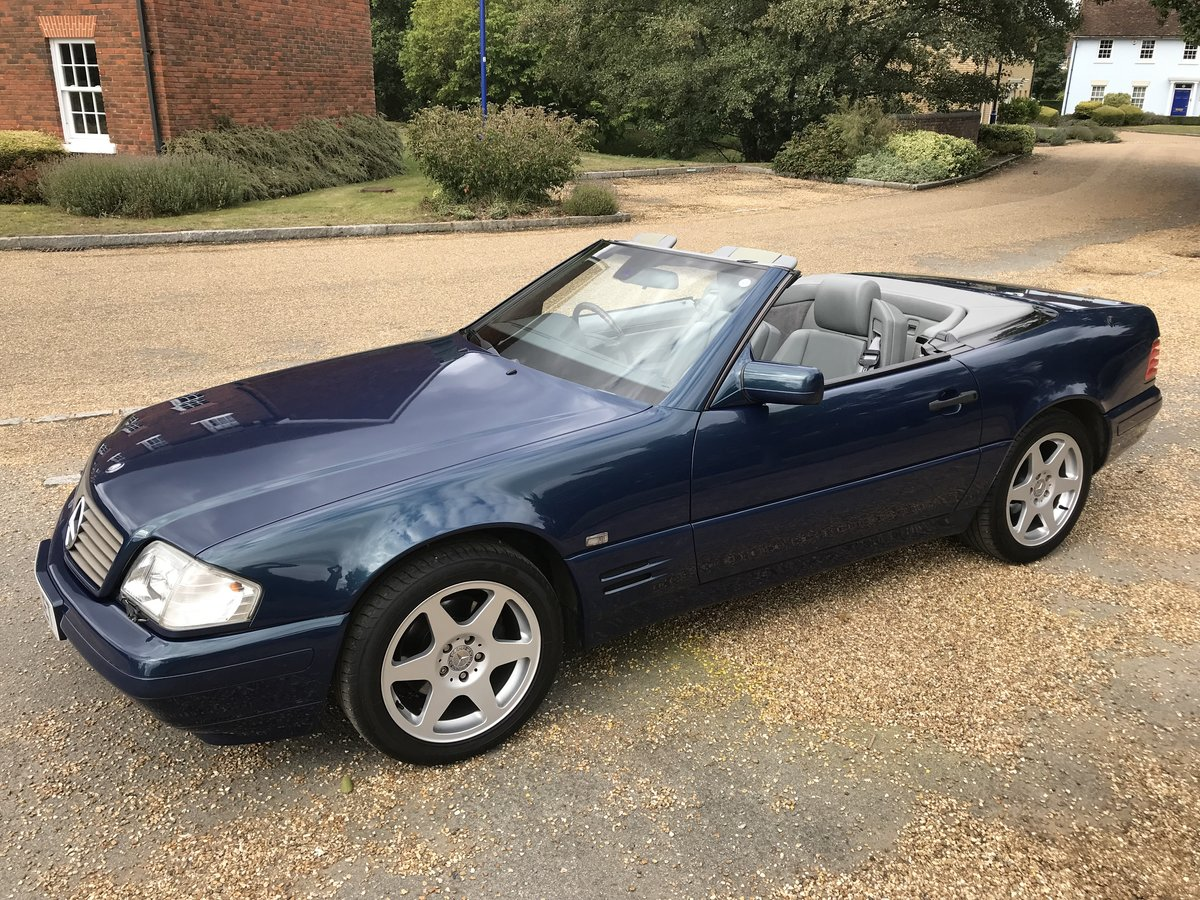 1998 Mercedes Benz SL320 Special Edition 40th Anniversary  For Sale (picture 1 of 6)
