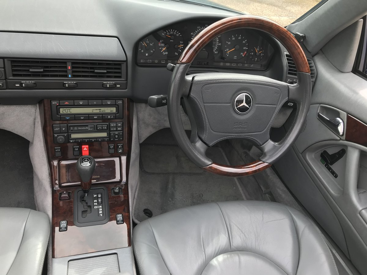 1998 Mercedes Benz SL320 Special Edition 40th Anniversary  For Sale (picture 5 of 6)