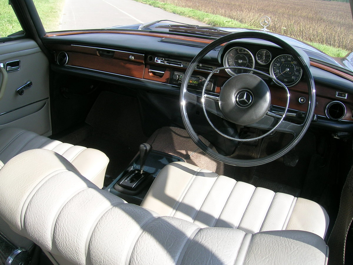 1972 Mercedes 280 SE Historic Vehicle For Sale (picture 6 of 6)
