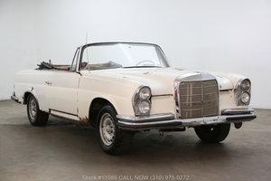 1962 Mercedes-Benz 220SE Cabriolet For Sale
