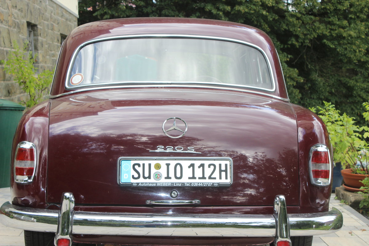 1958 Mercedes Benz 220 S, Ponton For Sale (picture 1 of 6)