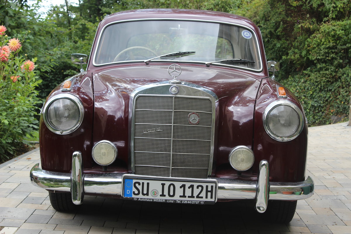 1958 Mercedes Benz 220 S, Ponton For Sale (picture 2 of 6)