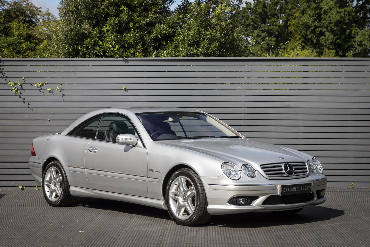 2003 Mercedes CL55 AMG Kompressor SOLD (picture 1 of 23)