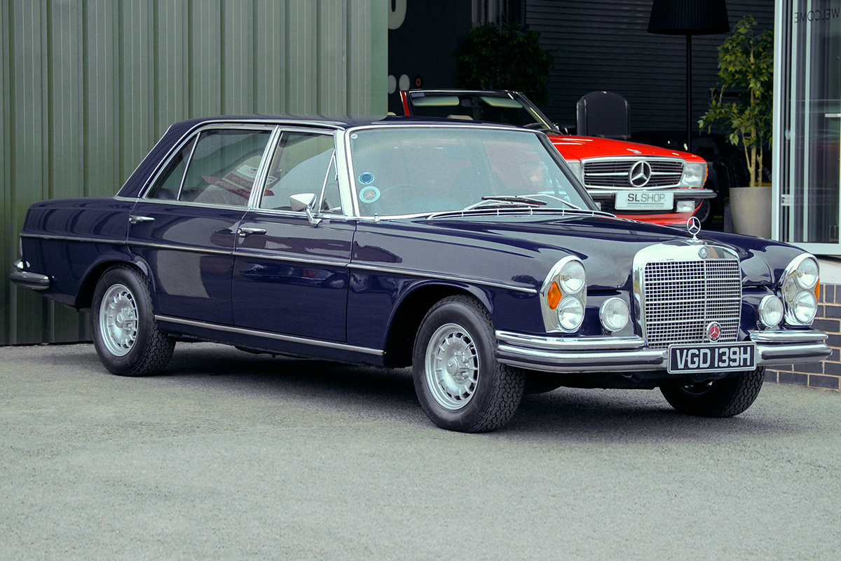 1968 Mercedes-Benz 300SEL 6.3 (W109) 48,000 Miles RHD For Sale (picture 1 of 6)