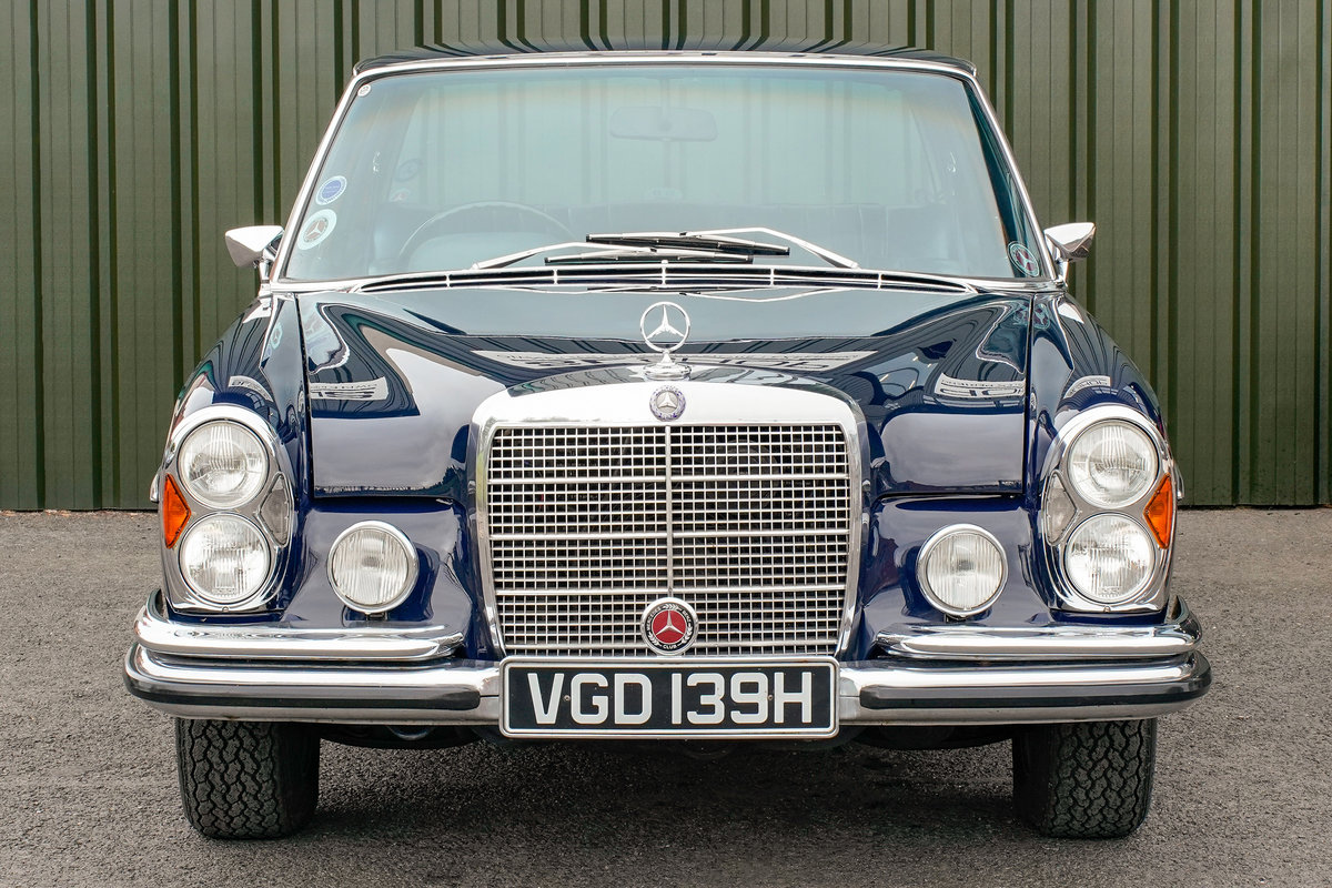 1968 Mercedes-Benz 300SEL 6.3 (W109) 48,000 Miles RHD For Sale (picture 2 of 6)