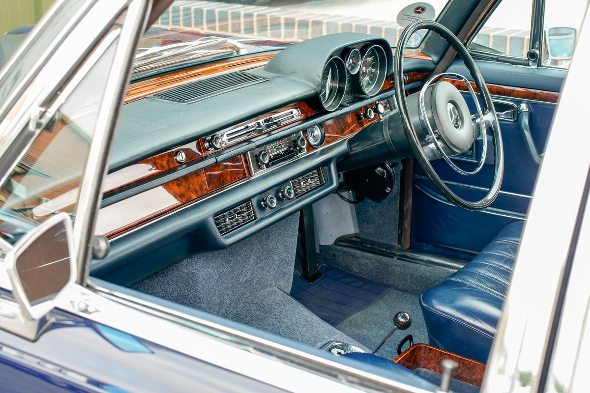 1968 Mercedes-Benz 300SEL 6.3 (W109) 48,000 Miles RHD For Sale (picture 4 of 6)