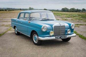 1964 Mercedes-Benz W110 190C - Unrestored - UK RHD - 3 Owners SOLD